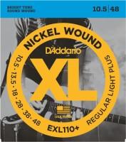 Фото - Струны DAddario XL Nickel Wound Plus 10.5-48