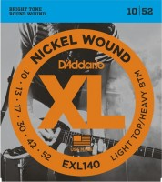 Струны DAddario XL Nickel Wound 10-52