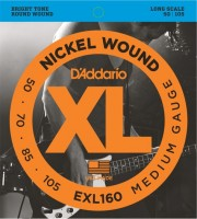 Струны DAddario XL Nickel Wound Bass 50-105