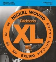 Фото - Струны DAddario XL Nickel Wound Bass 50-105