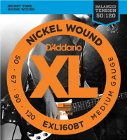 Струны DAddario XL Nickel Wound Bass 50-120