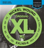Струны DAddario XL Nickel Wound Bass 6-String 32-135