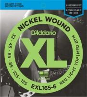 Фото - Струны DAddario XL Nickel Wound Bass 6-String 32-135