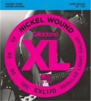 Фото - Струны DAddario XL Nickel Wound Bass 45-100