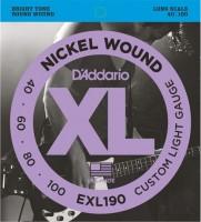 Фото - Струны DAddario XL Nickel Wound Bass 40-100