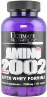 Аминокислоты Ultimate Nutrition Amino 2002 100 tab