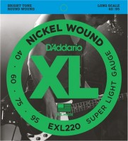 Фото - Струны DAddario XL Nickel Wound Bass 40-95