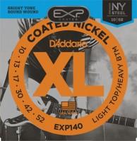 Струны DAddario EXP Coated Nickel Wound 10-52