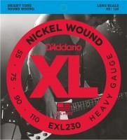 Струны DAddario XL Nickel Wound Bass 55-110