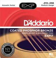Струны DAddario EXP Coated Phosphor Bronze 13-56