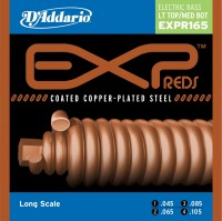 Фото - Струны DAddario EXP Reds Coated Copper-Plated 45-105
