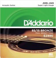 Фото - Струны DAddario 85/15 Bronze 9-45