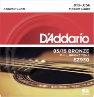 Фото - Струны DAddario 85/15 Bronze 13-56