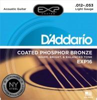 Струны DAddario EXP Coated Phosphor Bronze 12-53