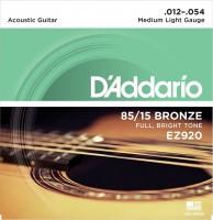 Струны DAddario 85/15 Bronze 12-54