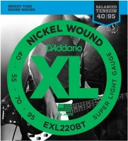 Струны DAddario XL Nickel Wound Bass Balanced 40-95