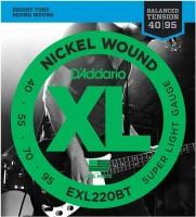 Фото - Струны DAddario XL Nickel Wound Bass Balanced 40-95