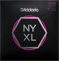 Фото - Струны DAddario NYXL Nickel Wound Bass 45-130
