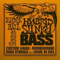 Фото - Струны Ernie Ball Slinky Nickel Wound Bass 45-105