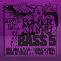 Фото - Струны Ernie Ball Slinky Nickel Wound Bass 50-135