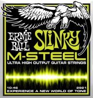 Струны Ernie Ball Slinky M-Steel 10-46