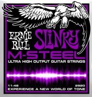 Струны Ernie Ball Slinky M-Steel 11-48