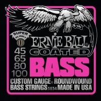 Фото - Струны Ernie Ball Slinky M-Steel Bass 45-100