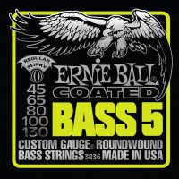 Фото - Струны Ernie Ball Slinky M-Steel Bass 45-130
