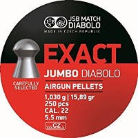 Пули и патроны JSB Diablo Jumbo Straton 5.5 mm 1.03 g 250 pcs