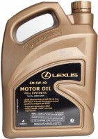 Моторное масло Lexus Engine Oil SM 5W-40 4L