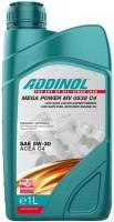 Моторное масло Addinol Mega Power MV 0538 C4 5W-30 1L