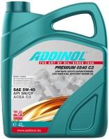 Моторное масло Addinol Premium 0540 C3 5W-40 4L