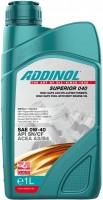 Моторное масло Addinol Superior 040 0W-40 1L