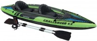 Надувная лодка Intex Challenger K2