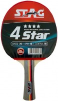 Фото - Ракетка для настольного тенниса Stag 4Star