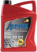 Моторное масло Alpine RSL 5W-30 C1 5L