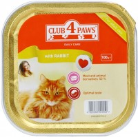 Фото - Корм для кошек Club 4 Paws Packaging Pate with Rabbit 0.1 kg