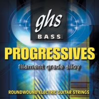 Фото - Струны GHS Bass Progressives 45-130