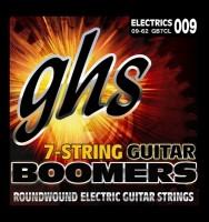 Струны GHS Boomers 7-String 9-62