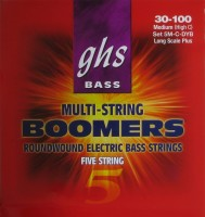 Фото - Струны GHS Bass Boomers 5-String 30-100