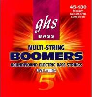 Фото - Струны GHS Bass Boomers 5-String 45-130