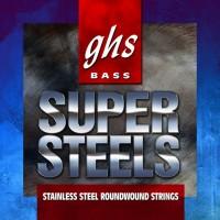 Фото - Струны GHS Bass Super Steels 44-102