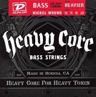 Струны Dunlop Heavy Core Bass 55-115