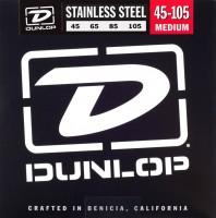 Струны Dunlop Stainless Steel Bass Medium 45-105