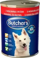 Фото - Корм для собак Butchers Basic Canned Pate with Beef/Rice 0,39 kg