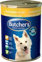 Фото - Корм для собак Butchers Basic Canned Pate with Chicken/Rice 0.39 kg