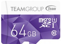 Карта памяти Team Group Color Card microSDXC UHS-1 64Gb