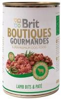 Фото - Корм для собак Brit Boutiques Gourmandes Lamb Bits/Pate 0.4 kg