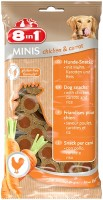 Корм для собак 8in1 Minis Chicken/Carrot 0.1 kg
