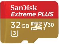 Фото - Карта памяти SanDisk Extreme Plus V30 microSDHC UHS-I U3 32Gb
